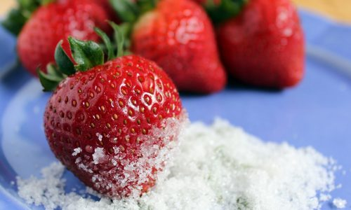 Fragole e zucchero